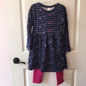 Gymboree Dress & Legging